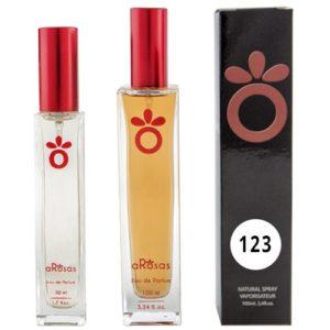 Perfume Equivalencia aRosas 123