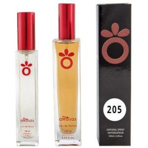 Perfume Equivalencia aRosas 205