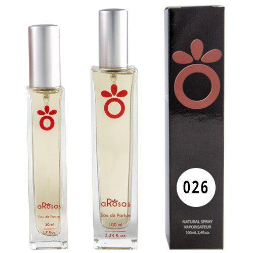 Perfume Equivalencia hombre aRosas 026