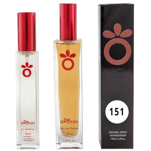Perfume de equivalencia Mujer aRosas 151