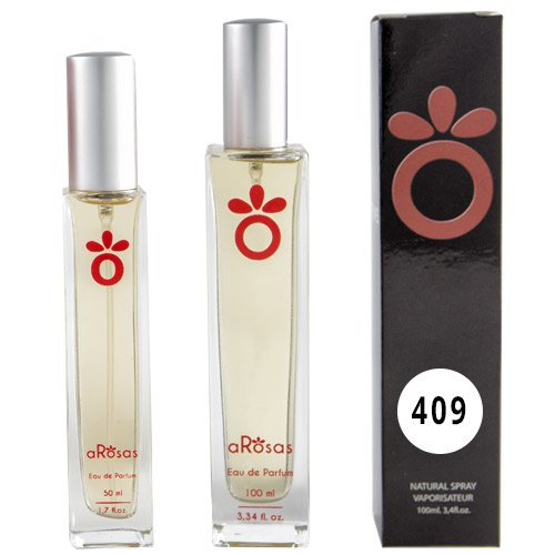 Perfume equivalencia aRosas hombre 409